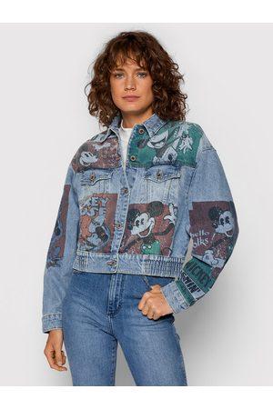 Desigual Kurtka jeansowa DISNEY India 21WWED32 Oversize