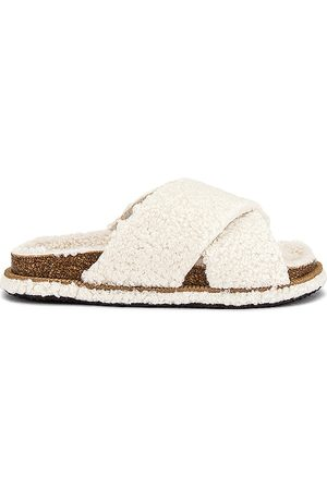 Free People So Soft Sidelines Faux Fur Footbed in - . Size 37 (also in 36, 38, 39, 40, 41).