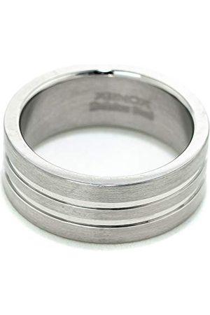 Xenox X1068-64 męski pierścionek ze stali, kolor srebrny, rozmiar 64