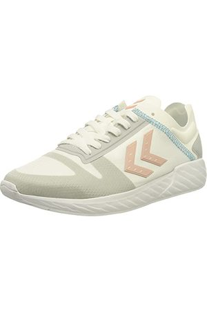Hummel Minneapolis Legend Sneaker uniseks, White Peachy Keen - 36 EU