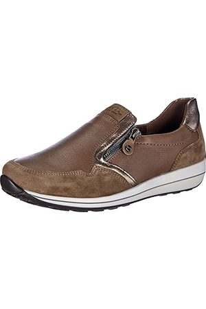 ARA Damskie buty OSAKA 1234503, szary - cyna Taiga - 38 EU Weit