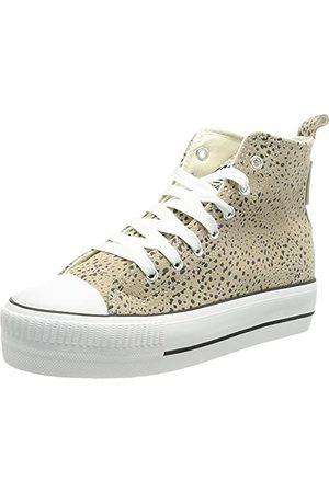 British Knights Damskie buty typu sneaker Kaya Mid, Lt Grey Cheetah, 42 EU