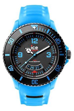 Ice-Watch Męski zegarek na rękę Ice Miami analogowy kwarcowy silikon SU.TE.BB.S.14