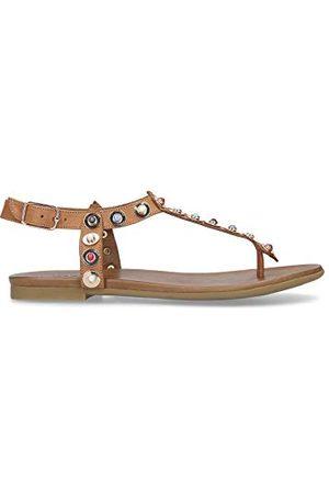 Carvela Damskie płaskie sandały Kankan, @@ - 36 EU