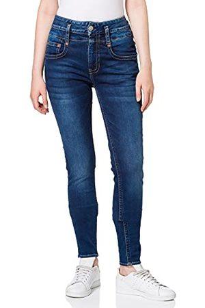 Herrlicher Damskie dżinsy jeansowe Pitch Hi Slim ponownie używane, Wino 030, 26W x 30L