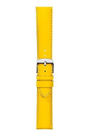 Morellato Bransoletka do zegarka, kolekcja sportowa, mod. Pilates, ze skóry cielęcej - efekt gumy - A01X4614B55 Taśma 18mm żółty