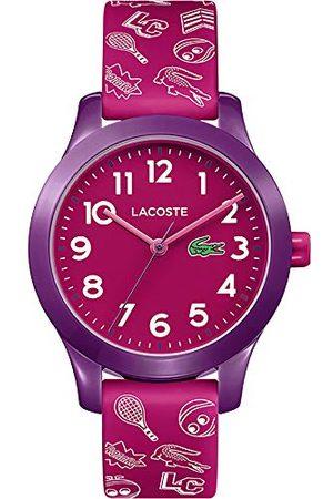 Lacoste Unisex dziecięcy analogowy kwarcowy zegarek na rękę z silikonową bransoletką 2030012