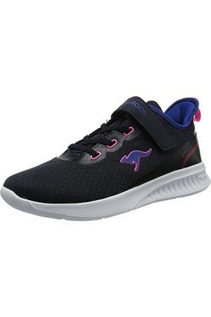 KangaROOS Damskie buty sportowe Kl-Stick Ev Sneaker, - Dk Navy Daisy Pink - 35 EU