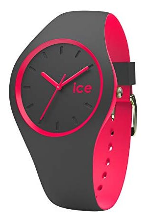 Ice-Watch ICE duo Anthracite Pink - Women's wristwatch with silicon strap - 001501 (Medium)