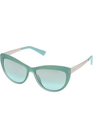 Police Męskie okulary przeciwsłoneczne S197055N19X, zielone, 55