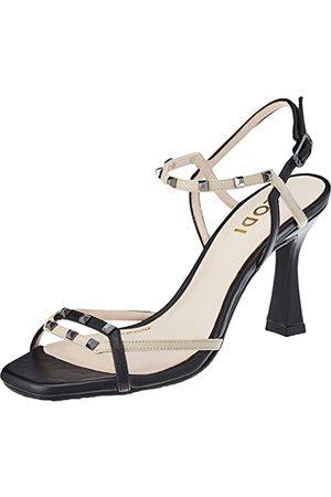 Lodi Damskie sandały Halima-2, - California Negro - 37 eu