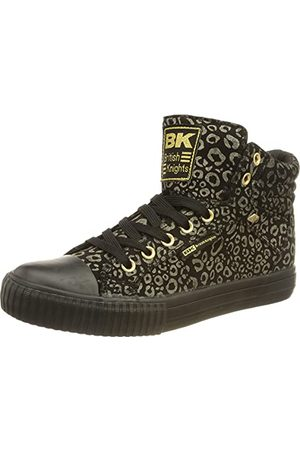British Knights Damskie buty sportowe Dee Sneaker, złoto - pantera - 37 eu