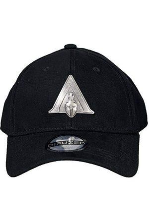 Difuzed Assassin's Creed Cap Odyssey - Metal Badge Odyssey Logo Curved Bill Cap Black
