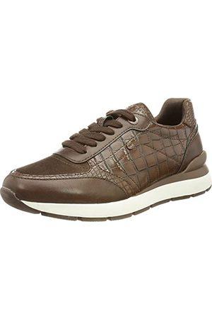 Esprit Damskie buty typu sneakers 071ek1w319, - 200 ciemny brąz - 39 eu