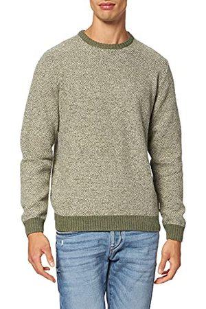 Wrangler Męski sweter Woodland Marl, (Ivy Green), XL
