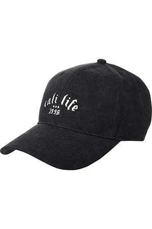 Cayler & Sons Unisex Metal Life Curved Cap czapka bejsbolowa, czarna/biała, jeden rozmiar