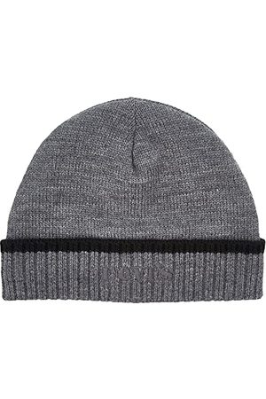 Levi's Męska czapka typu beanie z logo w stylu vintage, Regular Grey, jeden rozmiar
