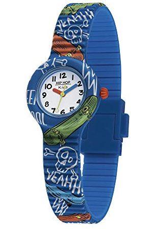 Hip Chłopcy Kids Fun analogowy zegarek kwarcowy z silikonowym paskiem Pasek