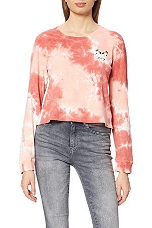 Hurley Damska koszulka W Sunburst Cropped Ls barwnik do krawata XS