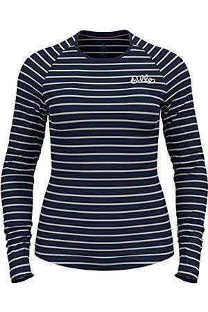 Odlo Damska koszulka Active Warm Originals Eco Baselayer L/S Crew, Ciemny szafir - , Jeden rozmiar