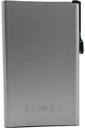 RF Distribution Easycard stylowe srebrne akcesoria podróżne, unisex, dorośli, jeden rozmiar