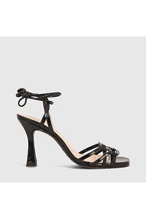 Lodi Damskie sandały Hadil-4, - Flexy Negro - 40 EU