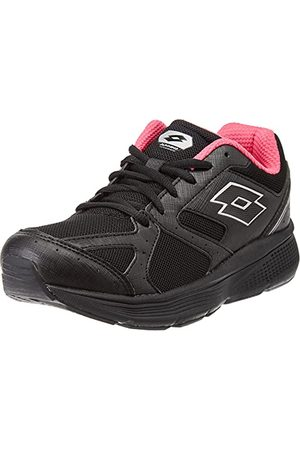 Lotto Damskie buty gimnastyczne Speedride 6 VIII W, Nero E Argento - 40 EU