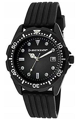 Dunlop DUN184L01 analogowy zegarek kwarcowy dla dorosłych, z gumową bransoletką