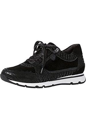 Jana Damskie buty typu sneaker 8-8-23616-27 055, - Blk Croco Pat - 38 EU