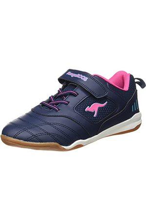 KangaROOS Damskie buty sportowe Cayard Ev Sneaker, - Dark Navy Daisy Pink - 37 eu