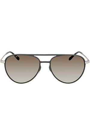 Lacoste Okulary przeciwsłoneczne męskie, Khaki, Jeden rozmiar