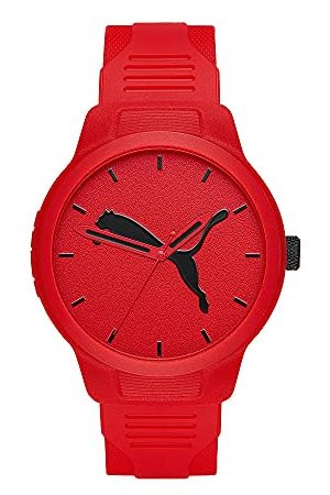 PUMA Męski reset, zegarek poliwęglanowy, P5004 Pasek One Size