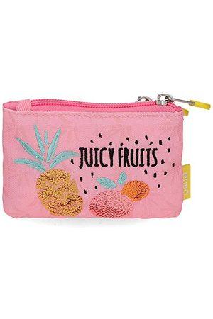 Enso Juicy Fruits portfel wielokolorowy 11,5 x 8 x 2,5 cm poliester