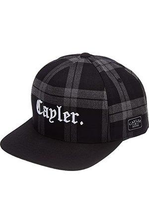 Cayler & Sons Unisex Check This Cap Baseballkappe, Grey/Black, One Size