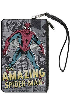 Buckle-Down Damski portfel Spider-Man Small portfel, wielokolorowy, 16,5 cm x 8,89 cm