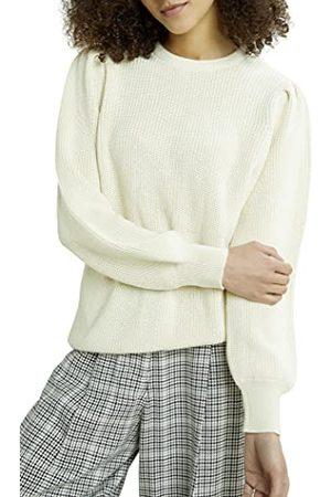 People Tree Damski sweter Mary Organic sweter sweter, kremowy, 34 PL