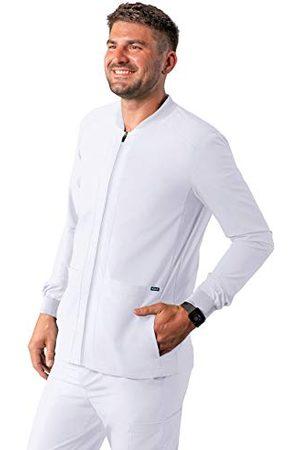 ADAR UNIFORMS Męska koszulka medyczna A6206WHTXL, biała, XL