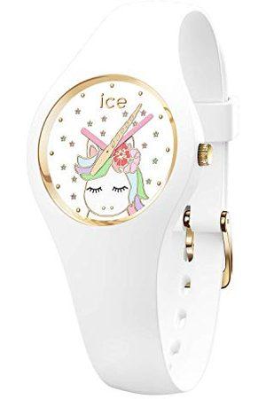 Ice-Watch ICE fantasia Unicorn white - zegarek z silikonowym paskiem Bardzo mały (28 mm) Extra small (28 mm)