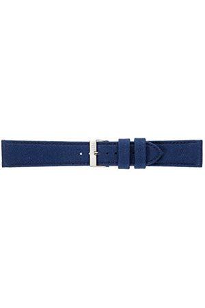 Morellato Bransoletka skórzana do zegarka męskiego CORDURA/2 niebieska 24 mm A01U2779110061CR24