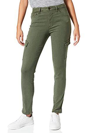 Camel Active Spodnie damskie, ciemnozielony, 29W x 30L