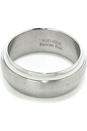 Xenox X1069-62 męski pierścionek ze stali, kolor srebrny, rozmiar 62