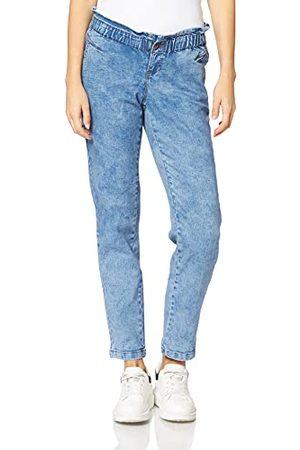 Mama Licious Damskie dżinsy Mlmills Comfy Fit A, Medium Blue Denim/Detail:wash, 32W x 32L