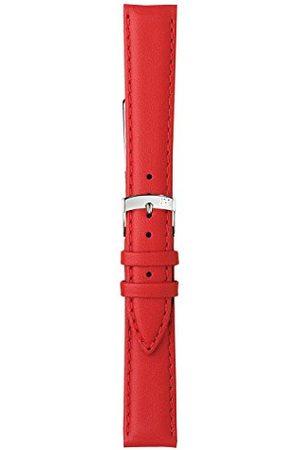 Morellato Bransoletka skórzana do zegarka męskiego TWINGO czerwona 20 mm A01U1877875083CR20