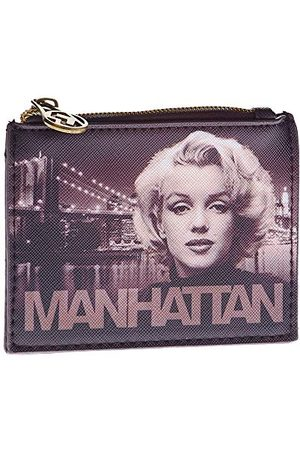 KARACTERMANIA Marilyn Monroe Manhattan prostokątny portfel, 12 cm x 9 cm x 1 cm