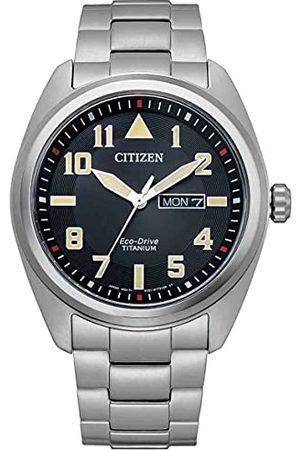 Citizen Męski analogowy zegarek Eco-Drive, , Bransoletka