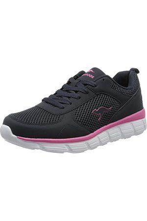 KangaROOS Damskie buty sportowe Kr-Lima, - Dark Navy Daisy Pink - 38 EU