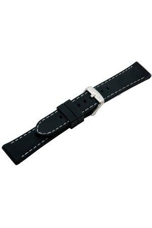 Morellato Unisex paski do zegarka czarne A01U3844187019CR20