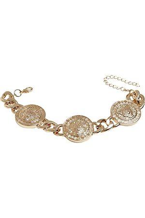 Urban classics Bransoletka unisex Big Plate Bracelet złota L/XL