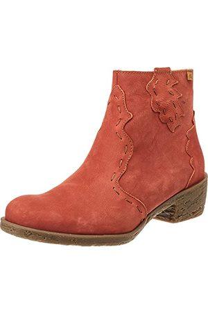 El Naturalista Damskie buty Oxford 5406, czerwony - Caldera - 40 EU