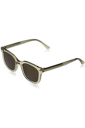 Calvin Klein EYEWEAR CK20538S-270 okulary przeciwsłoneczne, uniseks, Crystal Beige/Solid Warm Smoke, jeden rozmiar